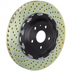 Rotor gelocht BMW E36/7 - E36/8 Z3 M-Coupe/Roadster Front 90.6528/29