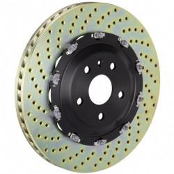 2-teilige Bremsscheiben gelocht AUDI A3 (8V) 1.0 TFSI, 1.2 TFSI, 1.8 TFSI, 2.0 TDI Front 91.1680L/R