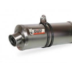 MIVV Exhaust APRILIA RSV 1000 OVAL Edelstahl A.004.LX1