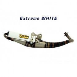 Arrow Rollerauspuff Extreme Alu White APRILIA RALLY 50 33512ENB