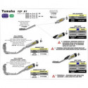 Arrow Kat-Ersatzrohr nur für Arrow Dämpfer71829PK / AK /AKN YAMAHA YZF 1000 R1 71630MI