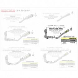 Arrow Competition Komplettanlage Pro-Race Titan mit Edelstahlkrümmer HONDA CBR 1000 RR 71174CP