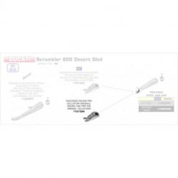 Arrow Vorschalldämpfer ohne Kat DUCATI Scrambler 800 Desert Sled 71673MI