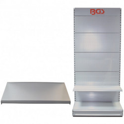 Zusatz-Boden 100 x 47 cm für Ausstellungswand, passend für BGS 49