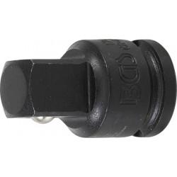 Kraft-Adapter, 10 (3/8) innen - 12,5 (1/2) aussen