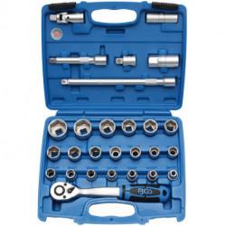 Steckschlüssel-Satz 12,5 (1/2), 8-32 mm, 27-tlg.