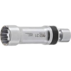 Zündkerzen Gelenkeinsatz, 21 mm, 12-kant mit Haltefeder