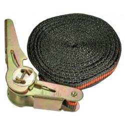 Knarren-Spannband, 5 m lang, 25 mm breit