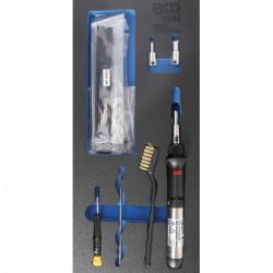 Kunststoff-Reparatur-Satz mit Gas-Lötkolben